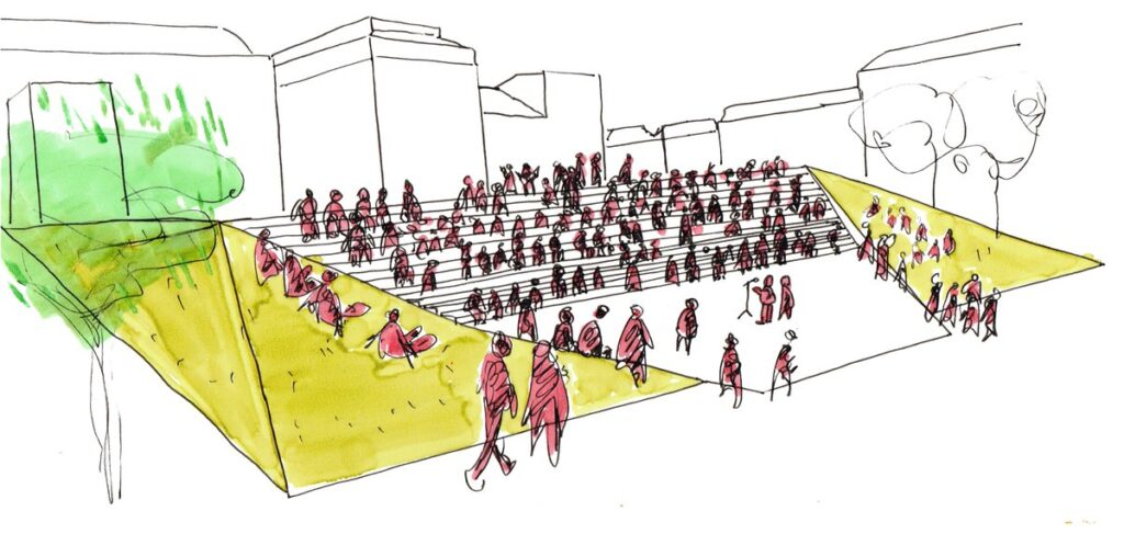 Ecosistema Urbano Dibujo
